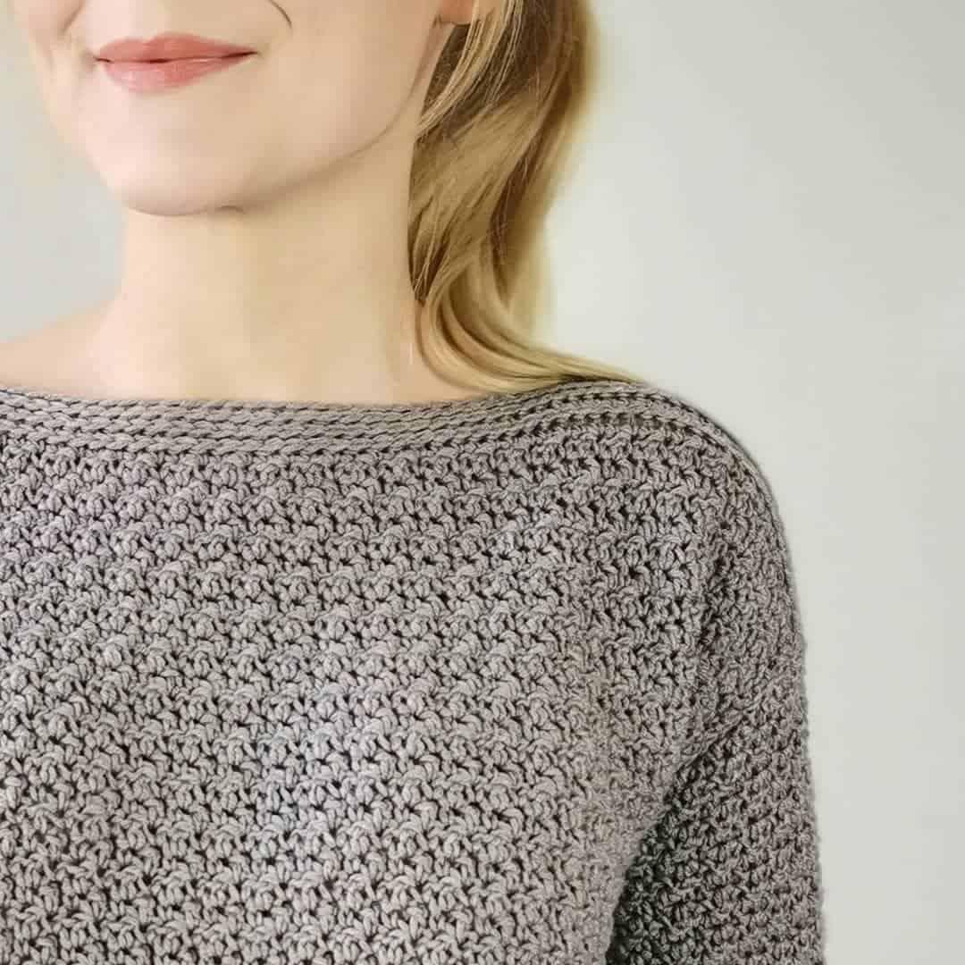 Pull Au Crochet Facile Et Chic Mery Crochet
